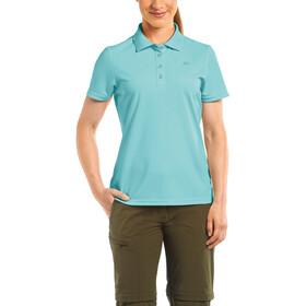 Maier Sports Ulrike Polo Mujer, blue radiance